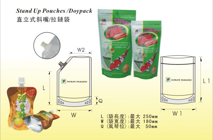 Stand Up Pouches/Doypack